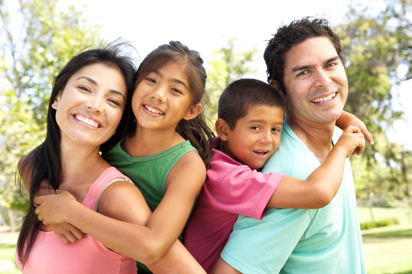 Smiling Family | family dentist in charlotte nc