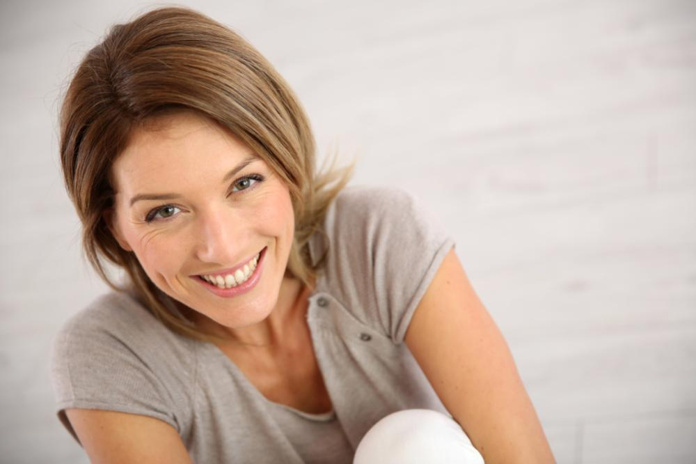 Woman Smiling | dentist steele creek charlotte nc