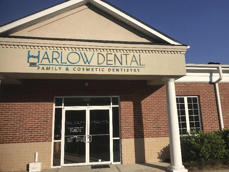 Office Building Exterior | Harlow Dental at Steele Creek